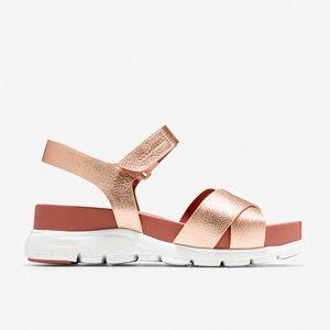 Cole Haan Women's Zerogrand Sandal Ii Flat Sandal